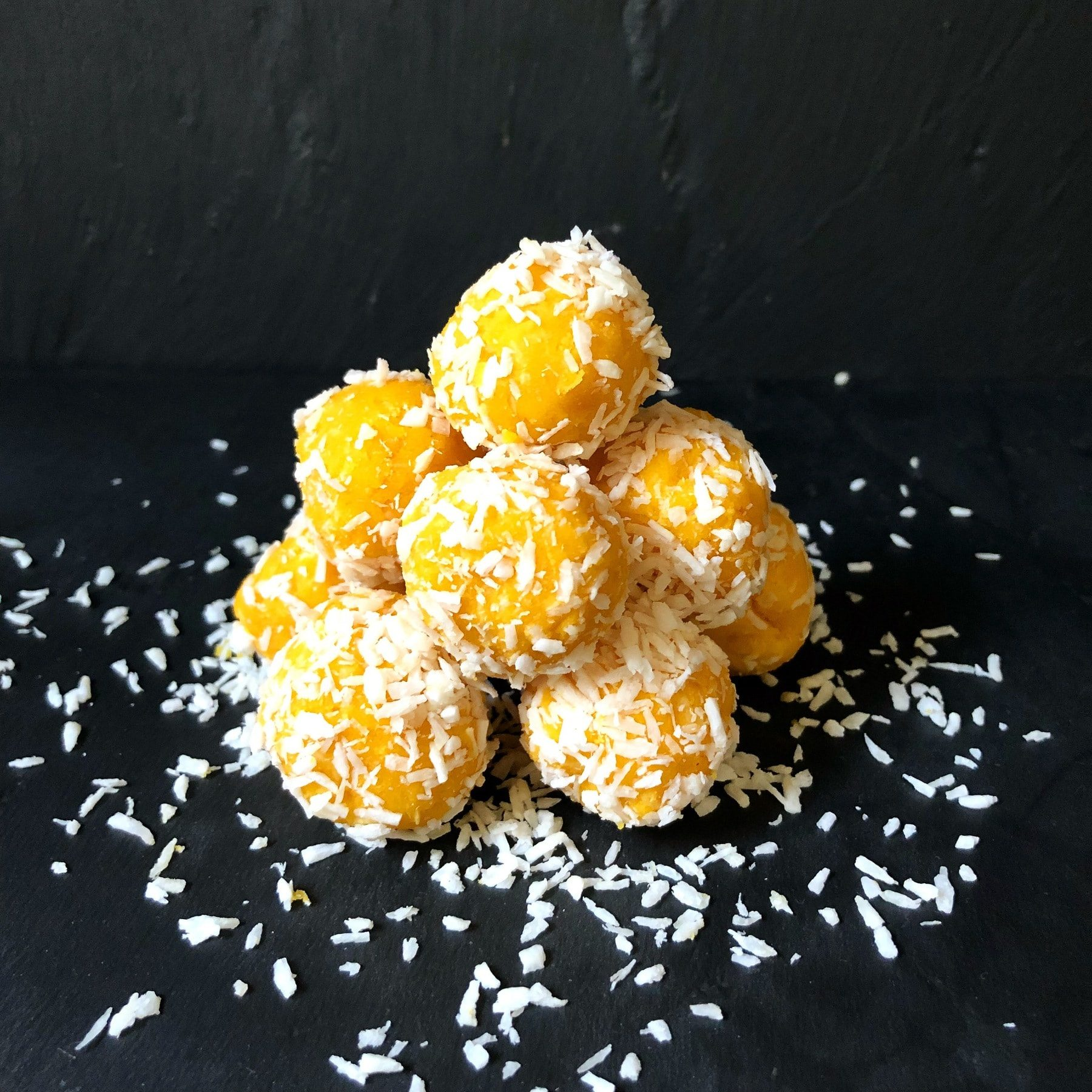 Mango and Coconut balls